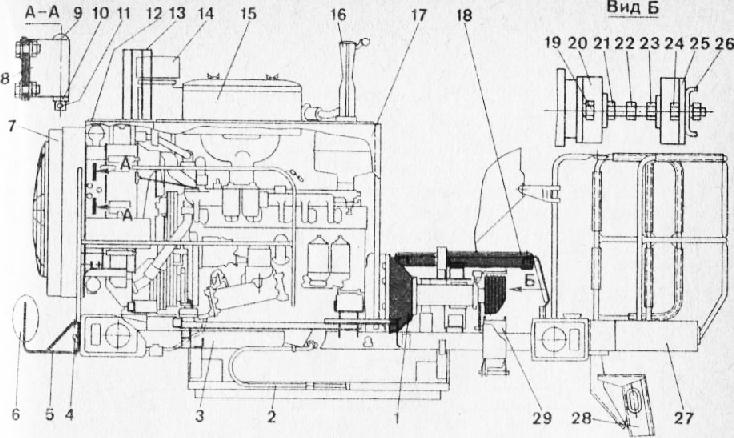 комбайна «Дон-1500» (вид