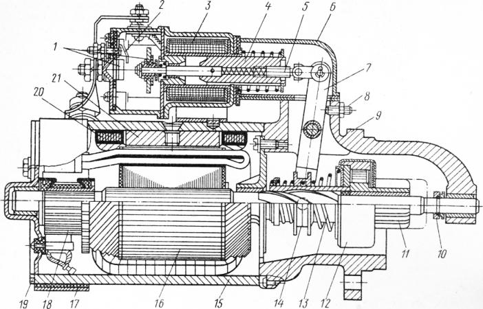 image 76 - Электрическая схема включения стартера